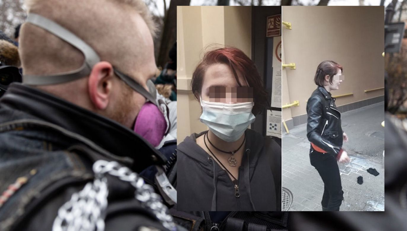 Czerwony Front oskarża o to kolektyw Rozbrat (fot. FB/@CzerwonyFront, D.Zarzycka/NurPhoto/Getty Images, zdjęcie ilustracyjne)