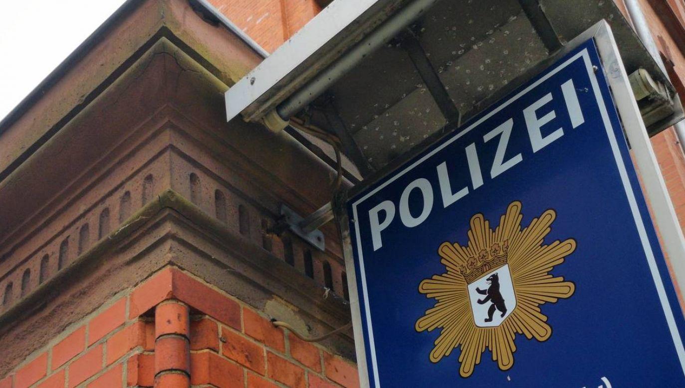 54-latek pracował na komisariacie w Berlinie-Lichterfelde (fot. Berlin Polizei)