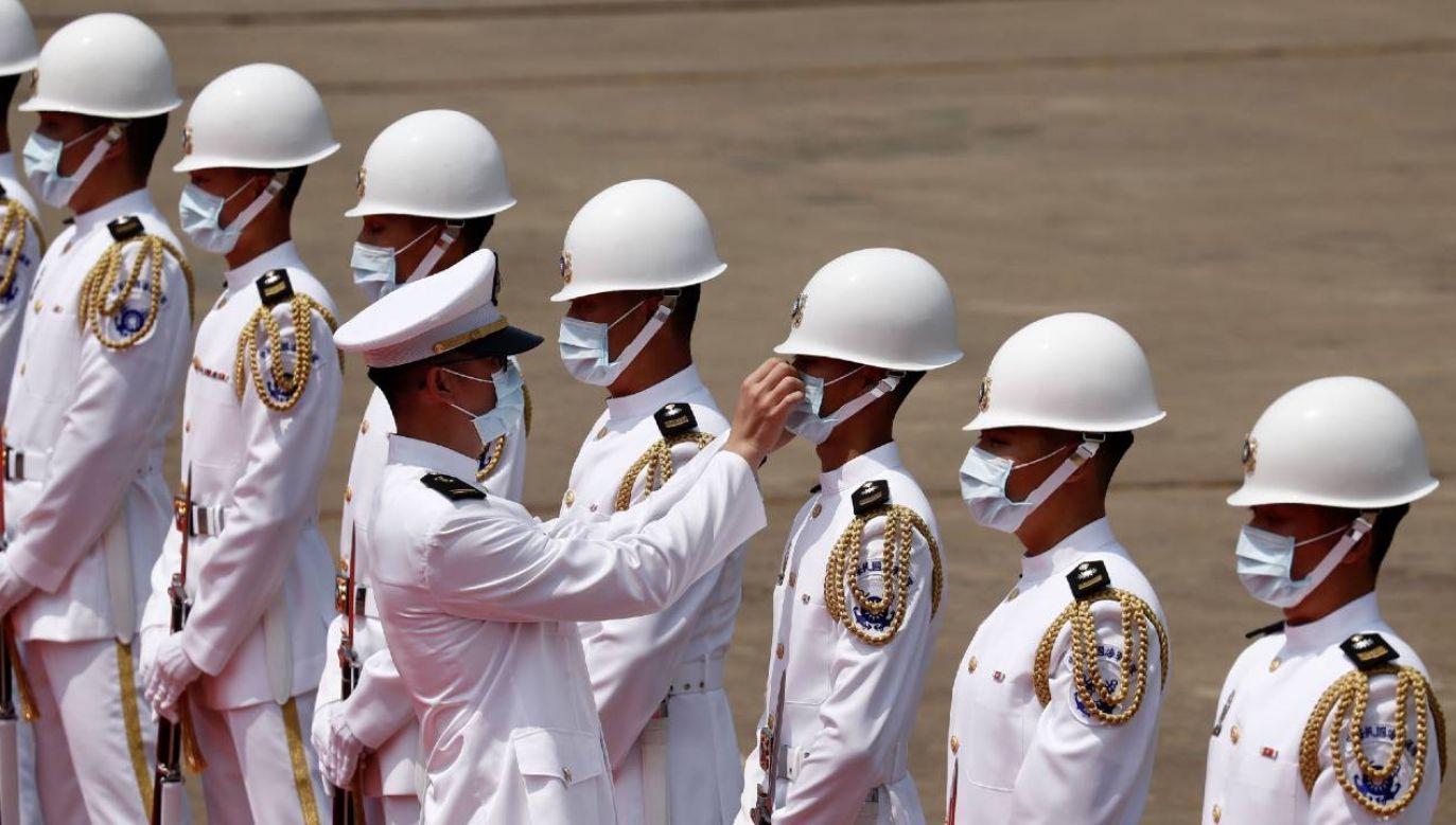 Tajwan obawia się chińskiej agresji (fot. PAP/EPA/RITCHIE B. TONGO)