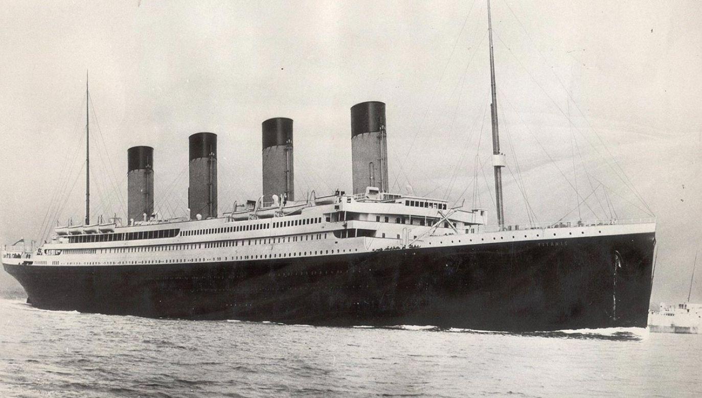 List w butelce wyrzucony dzień przed zatonięciem Titanica (fot. PAP/Photoshot)