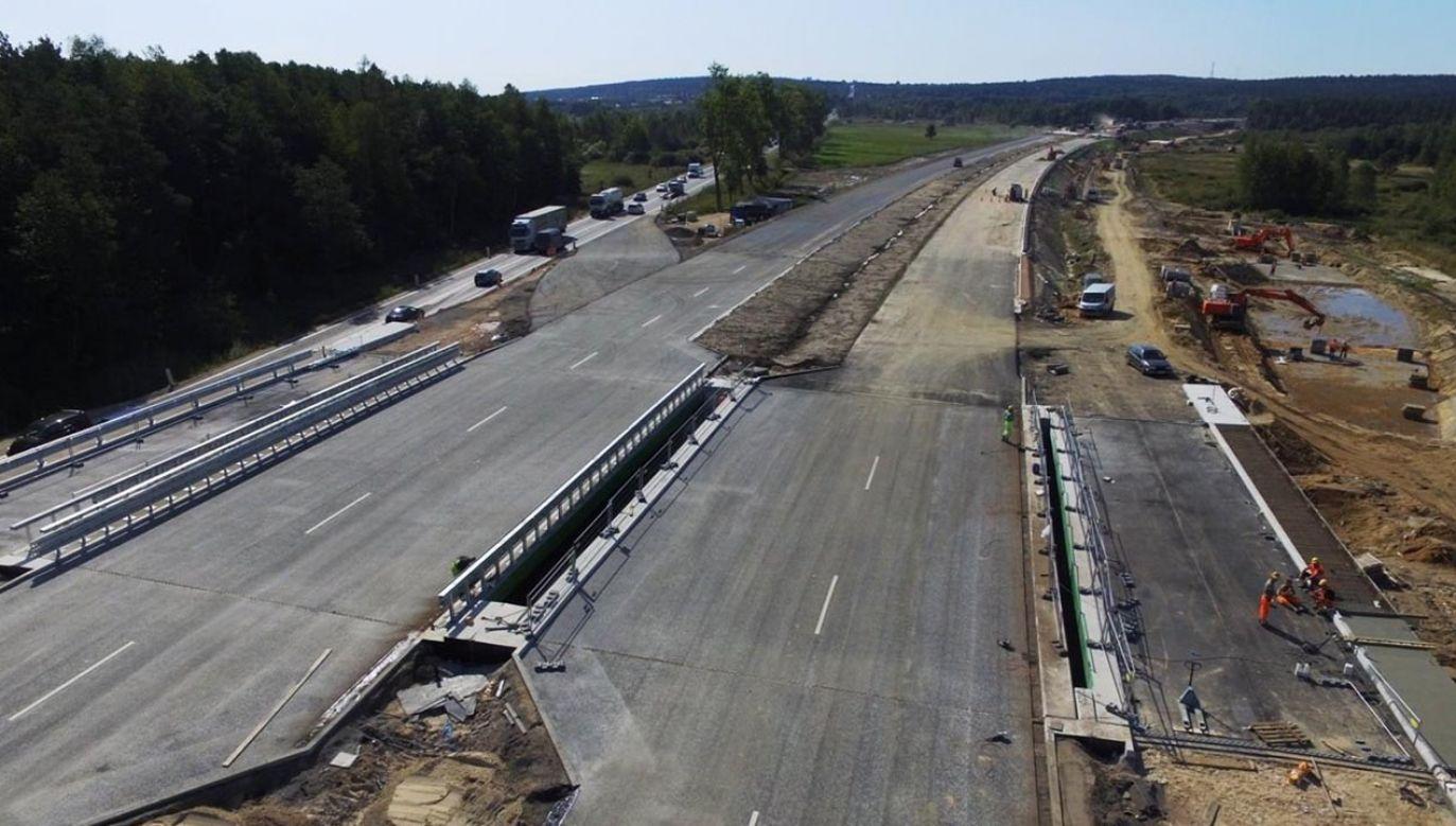 Czy chomiki europejskie wstrzymają prace budowlańców na trasie S7 niedaleko Krakowa? (fot.FB/Generalna Dyrekcja Dróg Krajowych i Autostrad)