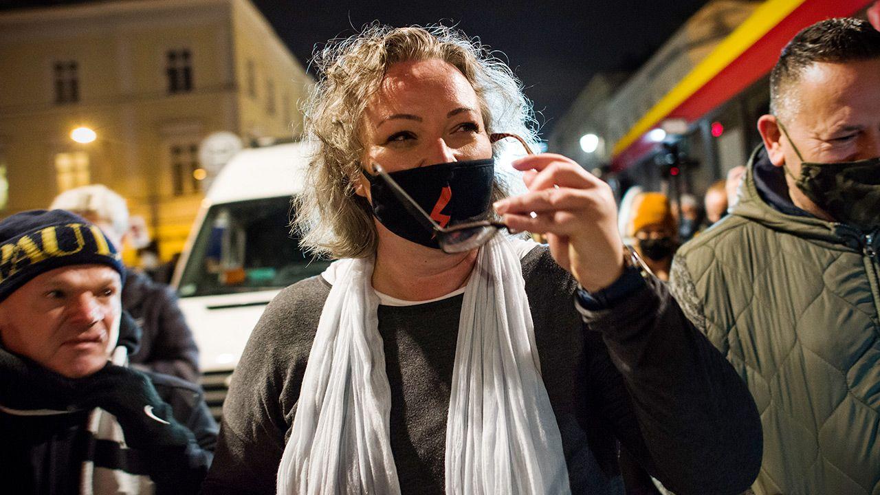 Marta Lempart (fot. Attila Husejnow/SOPA Images/LightRocket via Getty Images)