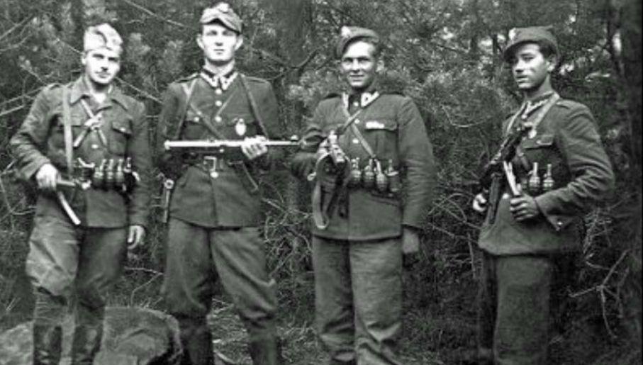 Żołnierze wyklęci jeszcze kilka lat po wojnie stawiali opór komunistom (fot. IPN)