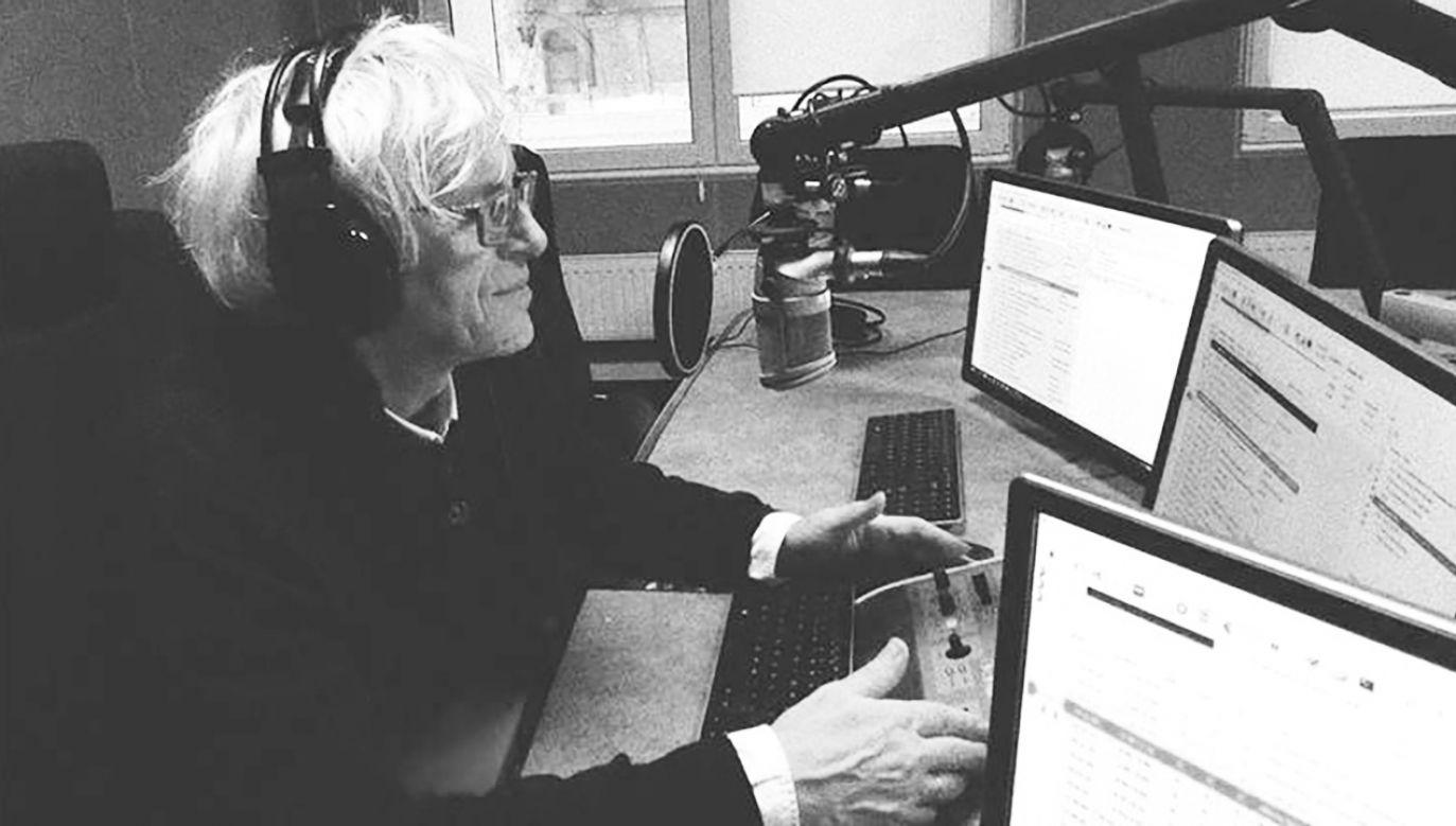 Jan Targowski był nie tylko dziennikarzem i prezenterem, ale przez pewien czas także dyrektorem muzycznym Radia Łódź (fot. Radio Łódź)