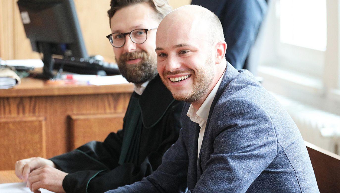 W poniedziałek Jan Śpiewak zapowiedział, że prawdopodobnie jeszcze w tym tygodniu złoży wniosek do prezydenta o ułaskawienie (fot. arch. PAP/Paweł Supernak)