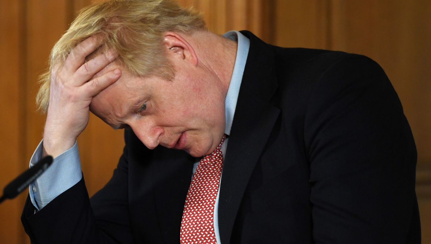 Boris Johnson, the Prime Minister of the UK. Photo: PAP/EPA/FACUNDO ARRIZABALAGA/POOL