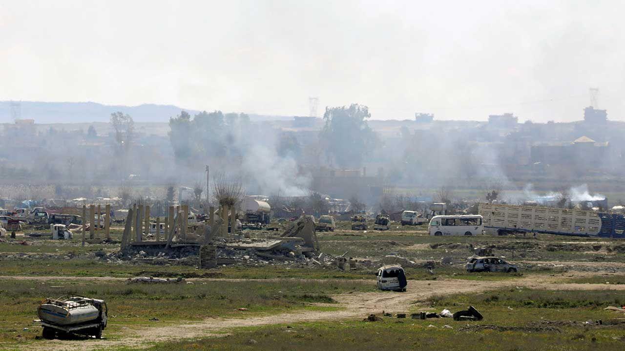 Terytoria pod kontrolą ISIS zajmują już zaledwie kilkadziesiąt kilometrów kwadratowych (fot. REUTERS/Rodi Said)