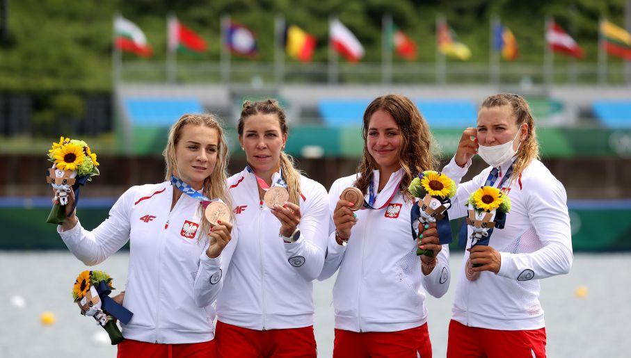 Justyna Iskrzycka, Karolina Naja, Anna Puławska i Marta Walczykiewicz (fot. Getty Images)