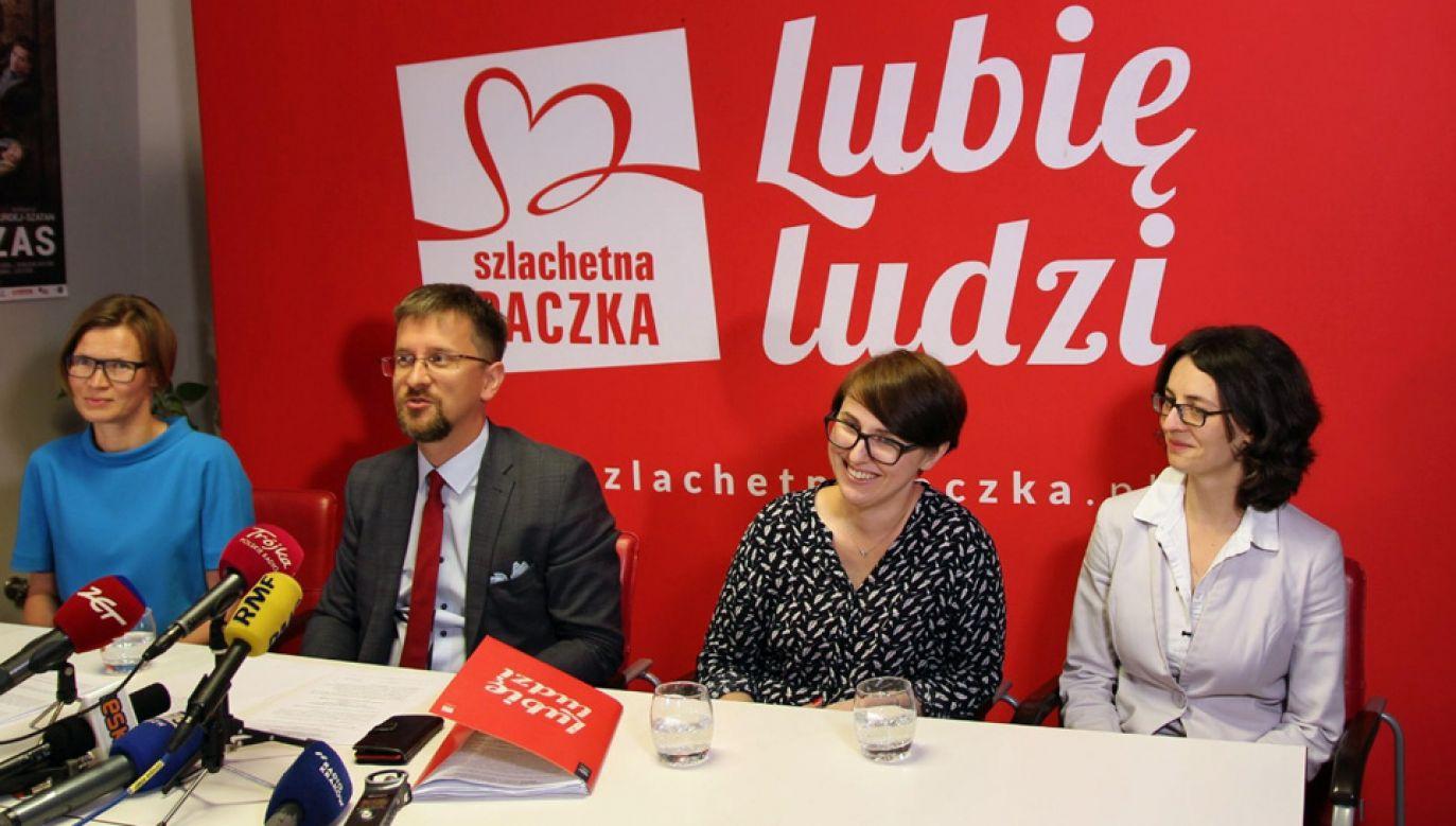 Zarząd stowarzyszenia utworzyli Anna Wilczyńska, Dominika Langer-Gniłka, Anna Korzycka i Łukasz Słoniowski (fot. FB/Stowarzyszenie Wiosna)