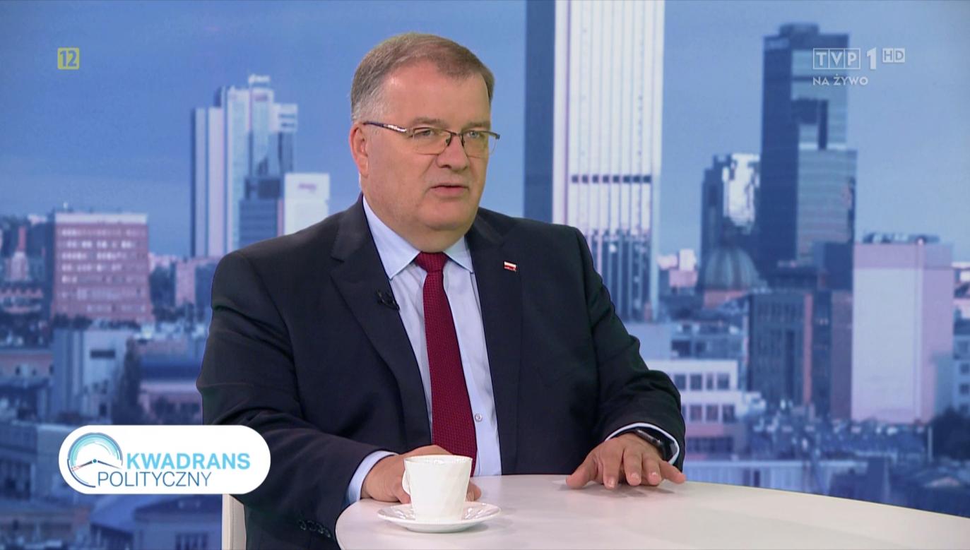 Andrzej Dera (fot.TVP1)