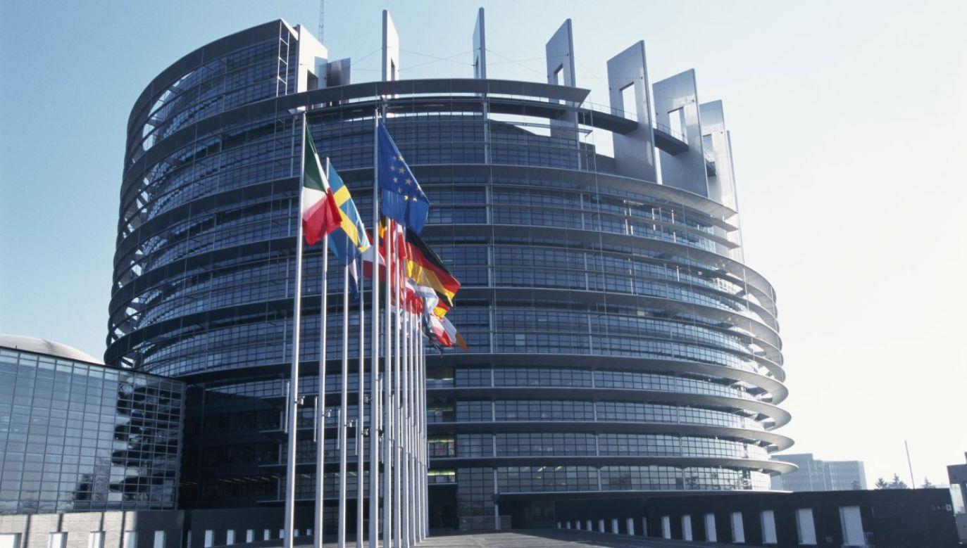 Europoseł PiS komentował debatę w Parlamencie Europejskim (fot. Philippe Lesage/Sygma via Getty Images)