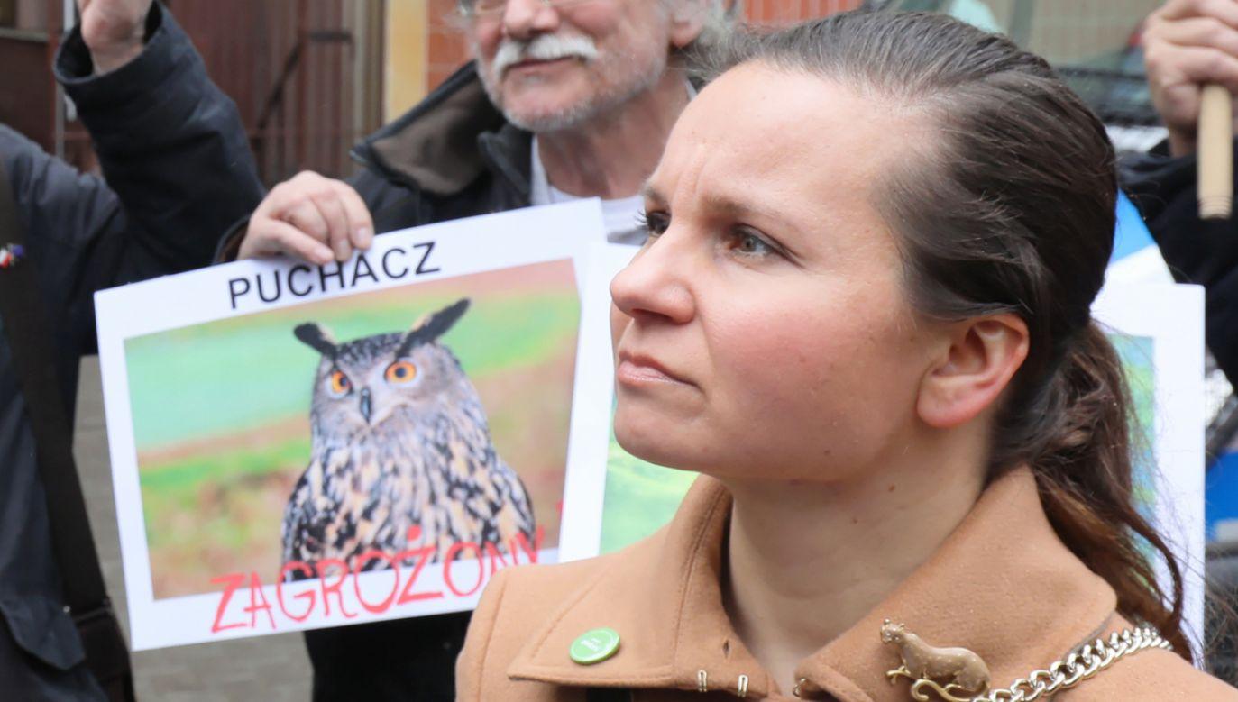 """Zielińska przedstawia się na Twitterze jako """"ekopatriotka"""" (fot. PAP/Paweł Supernak)"""