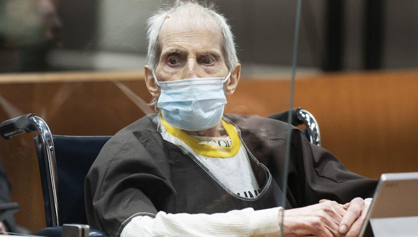 Multimilioner Robert Durst podejrzany o morderstwo żony (fot. PAP/EPA/Myung J. Chun)