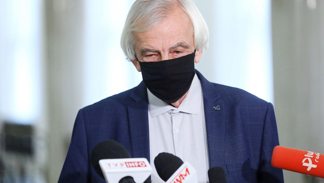Wicemarszałek Sejmu Ryszard Terlecki (fot. PAP/Rafał Guz)