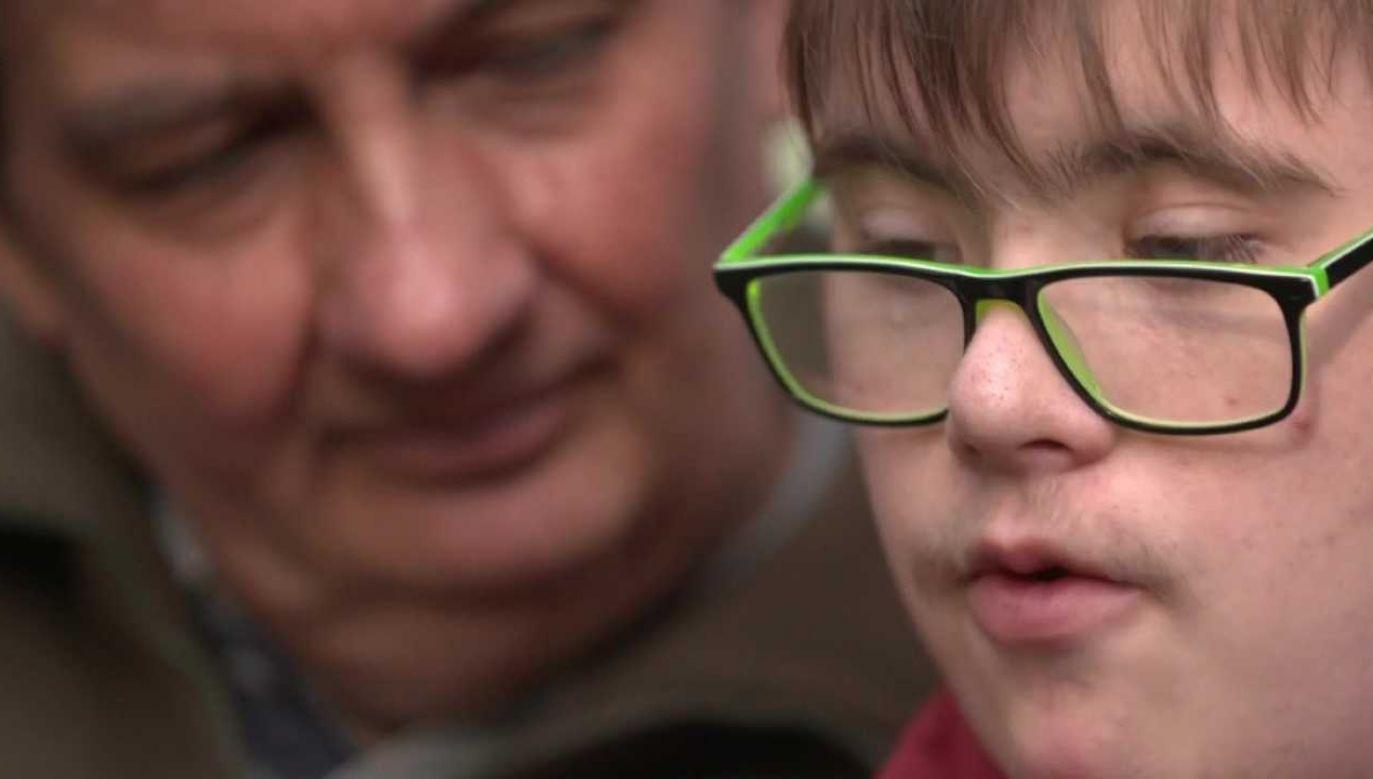 15-letni Maksymilian ma kochającą rodzinę (fot. TVP1)
