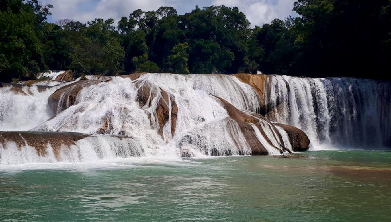 Wodospady Agua Azul (fot. Agnieszka Wasztyl)