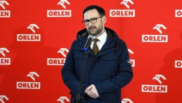 Obajtek o doniesieniach medialnych (fot. PAP/Darek Delmanowicz)