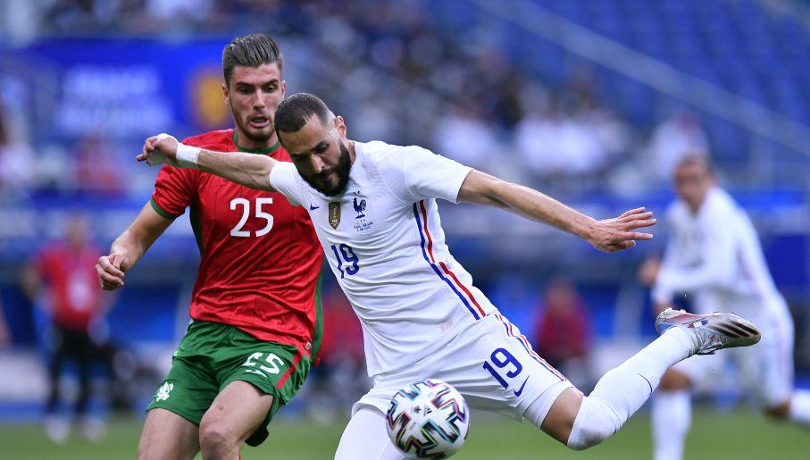 Cała Francja żyła powrotem Karima Benzemy do reprezentacji (fot. Getty Images)
