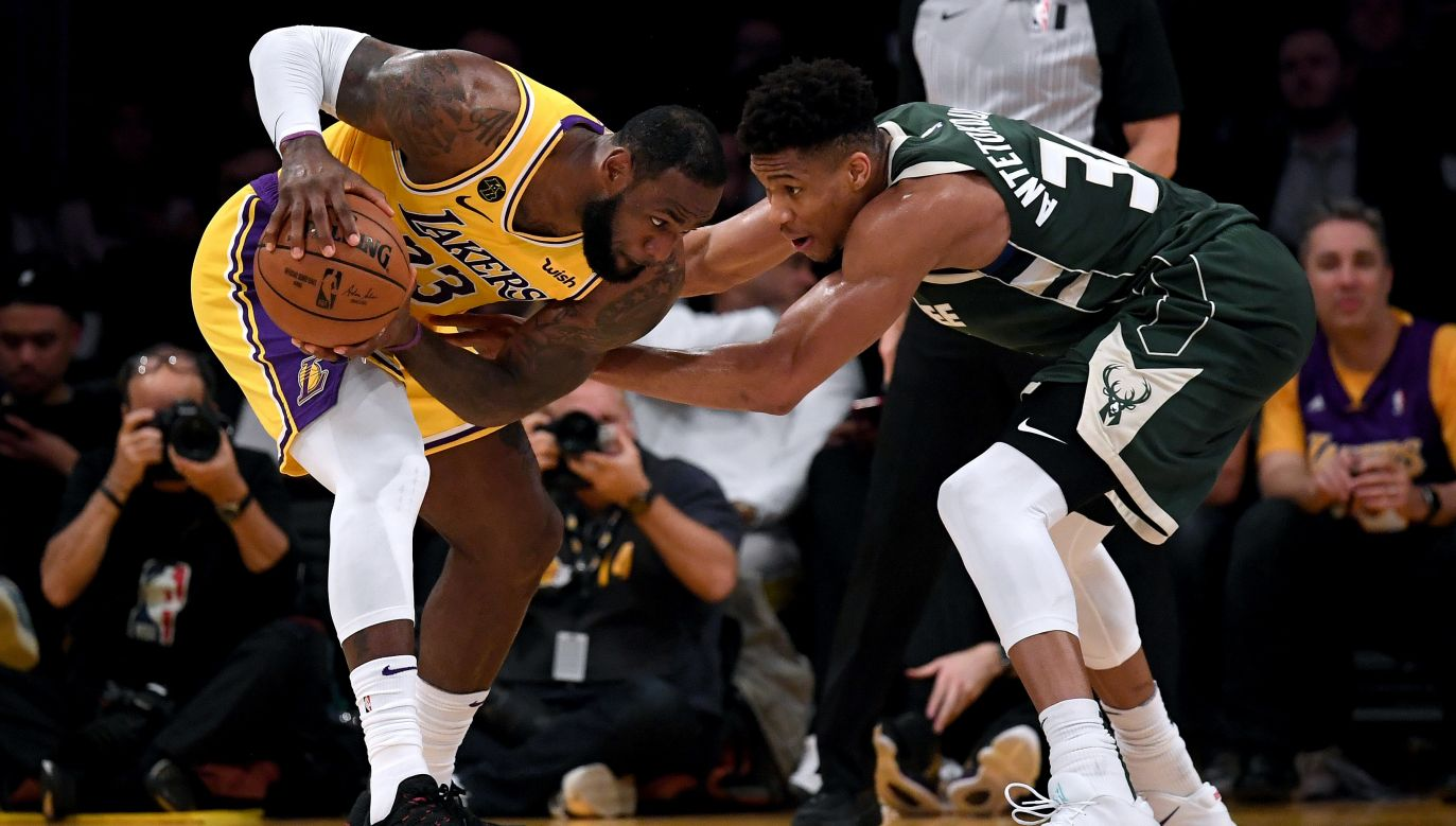 Eksperci przewidują, że o mistrzostwo NBA zagrająLos Angeles Lakers i Milwaukee Bucks (fot. Getty Images)