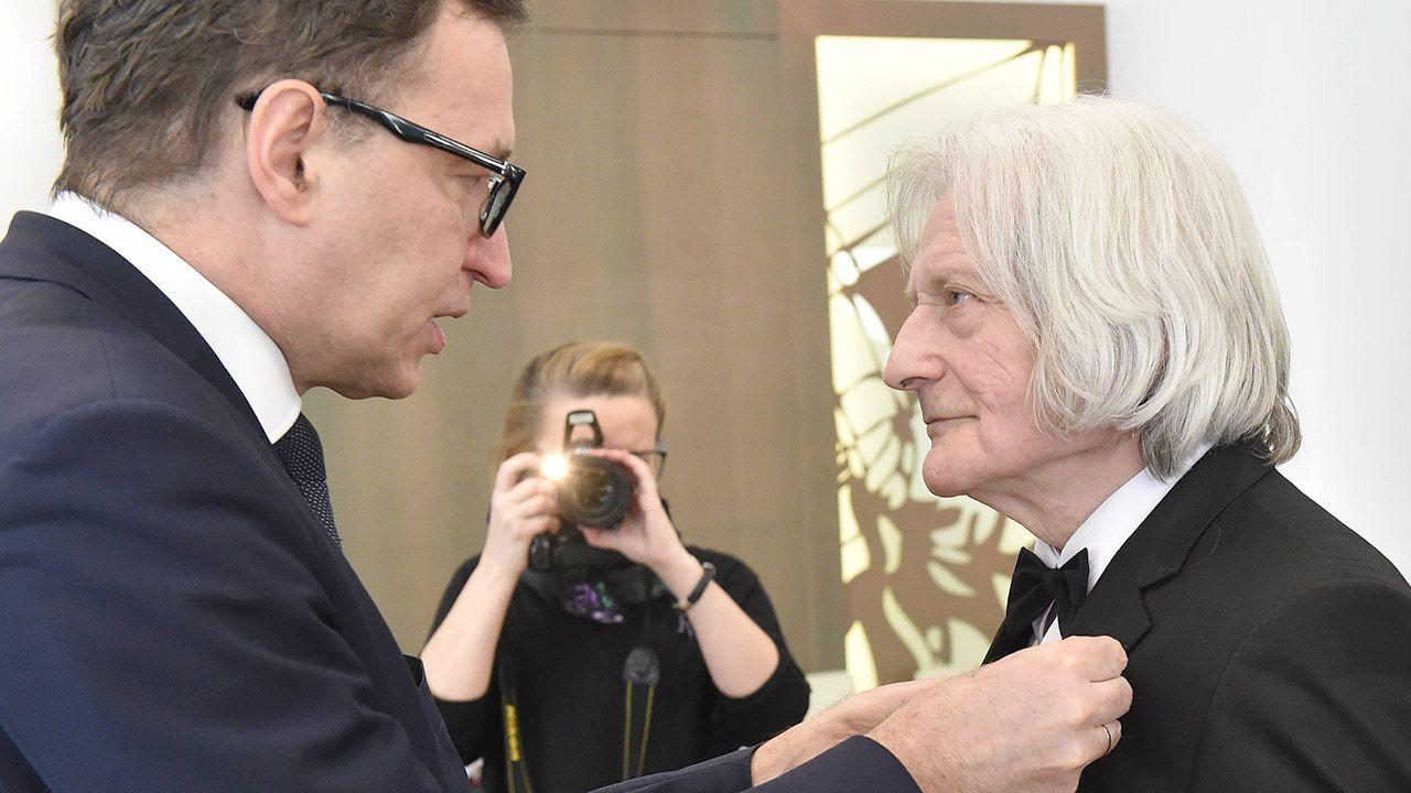 Janusz Fatyga został odznaczony między innymi Krzyżem Wolności i Solidarności oraz Krzyżem Kawalerskim Orderu Odrodzenia Polski (fot. arch.PAP/Jacek Bednarczyk)