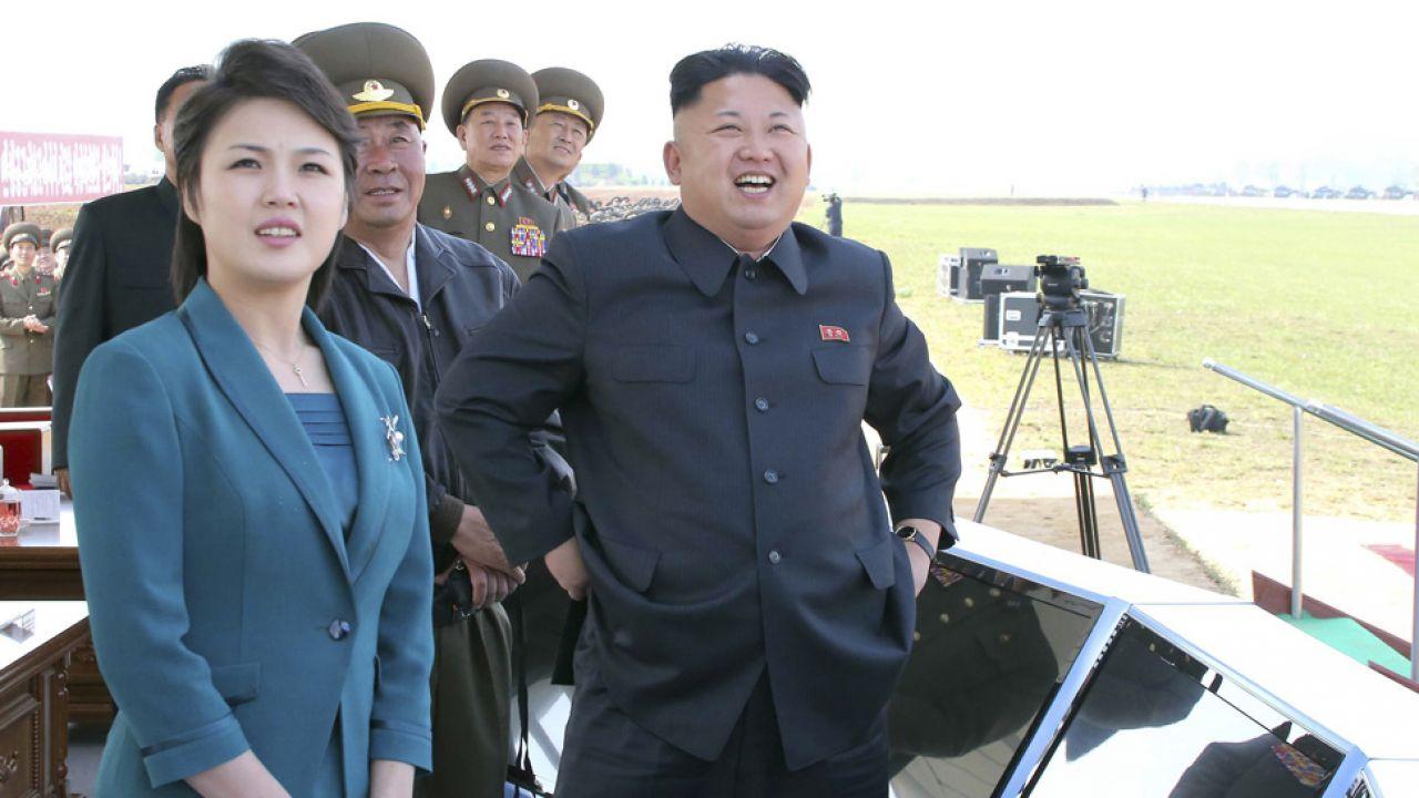 Ri Sol Dzu ma być żoną Kim Dzong Una od 2009 roku (fot. Reuters/KCNA)