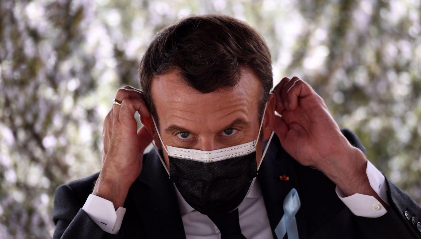 Macron zapowiedział likwidację ENA już w 2019 r. (fot. PAP/EPA)
