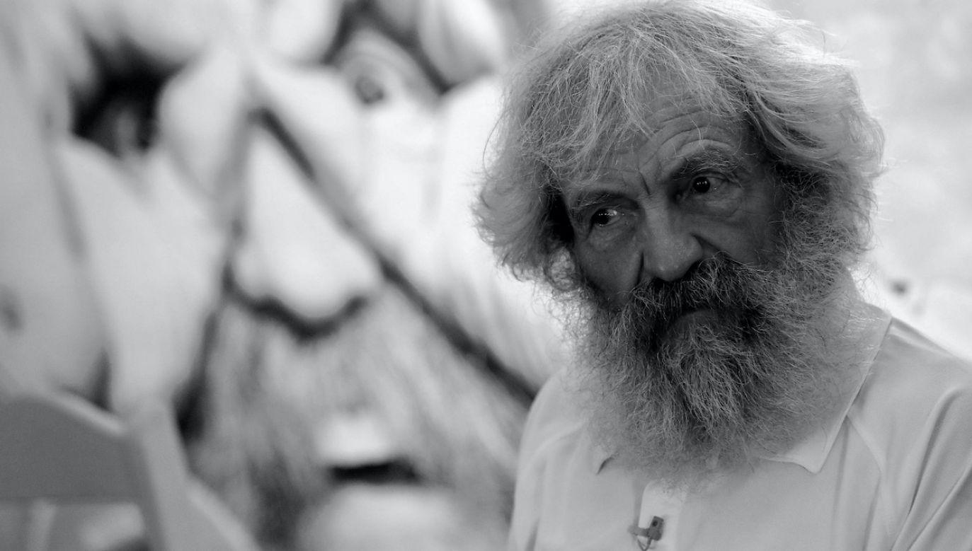 Aleksander Doba miał 74 lata (fot. arch.PAP/Bartłomiej Zborowski)