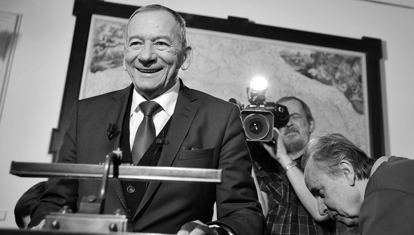 Przewodniczący Senatu Republiki Czeskiej Jaroslav Kubera zmarł w wieku 72 lat (fot. arch.PAP/CTK)