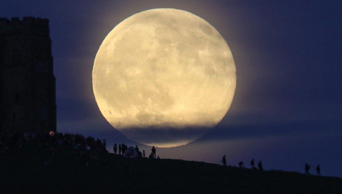 Ostatnia szansa w tym roku, by zobaczyć superksiężyc (fot. Matt Cardy/Getty Images)