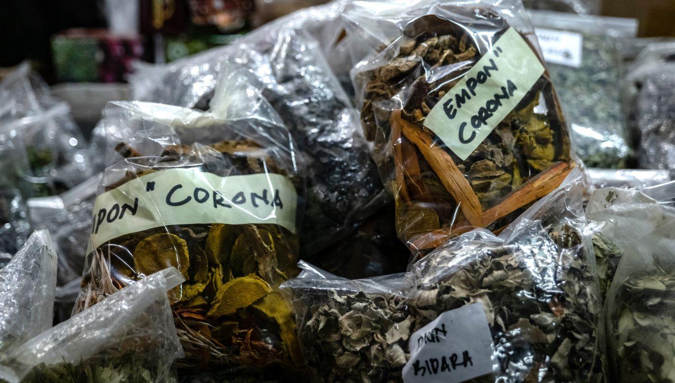 Jawajskie tradycyjne zioła pod nazwą