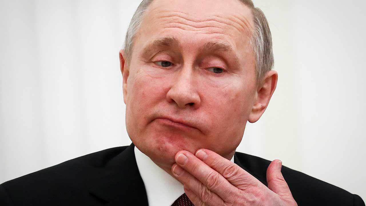 Prezydent Rosji Władimir Putin (fot. REUTERS/Maxim Shemetov/Pool)