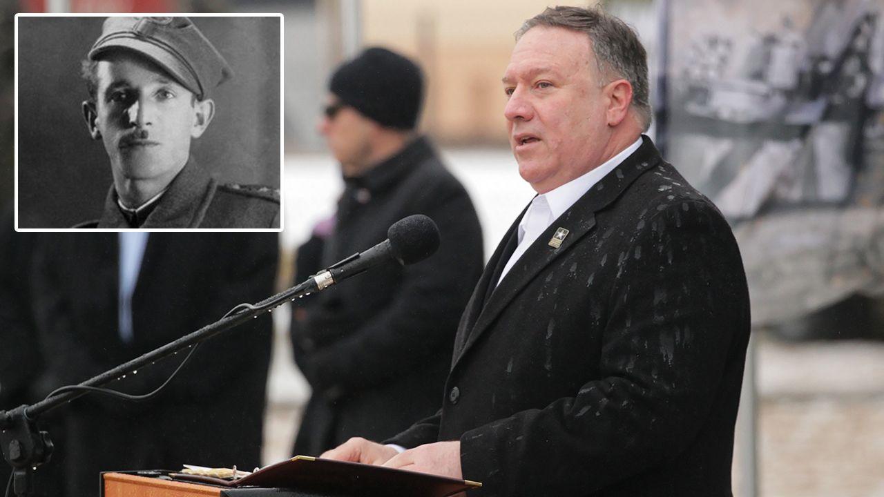 Sekretarz stanu USA Mike Pompeo (fot. PAP/Tomasz Waszczuk/jewishpartisans.org)