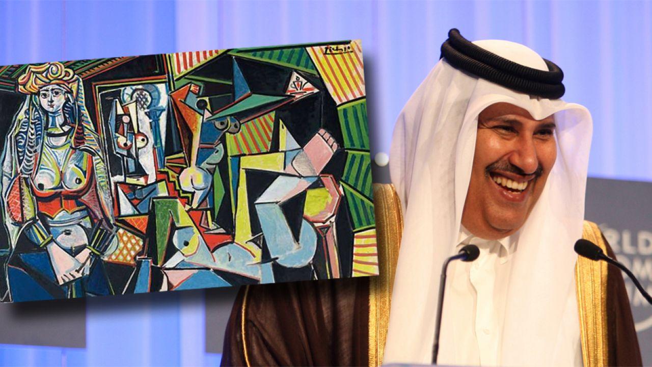 """""""Kobiety z Algieru"""" kupił za 180 mln dolarów Hamad ibn Dżasim ibn Dżabr Al-Sani (fot. Wikipedia/WCE)"""