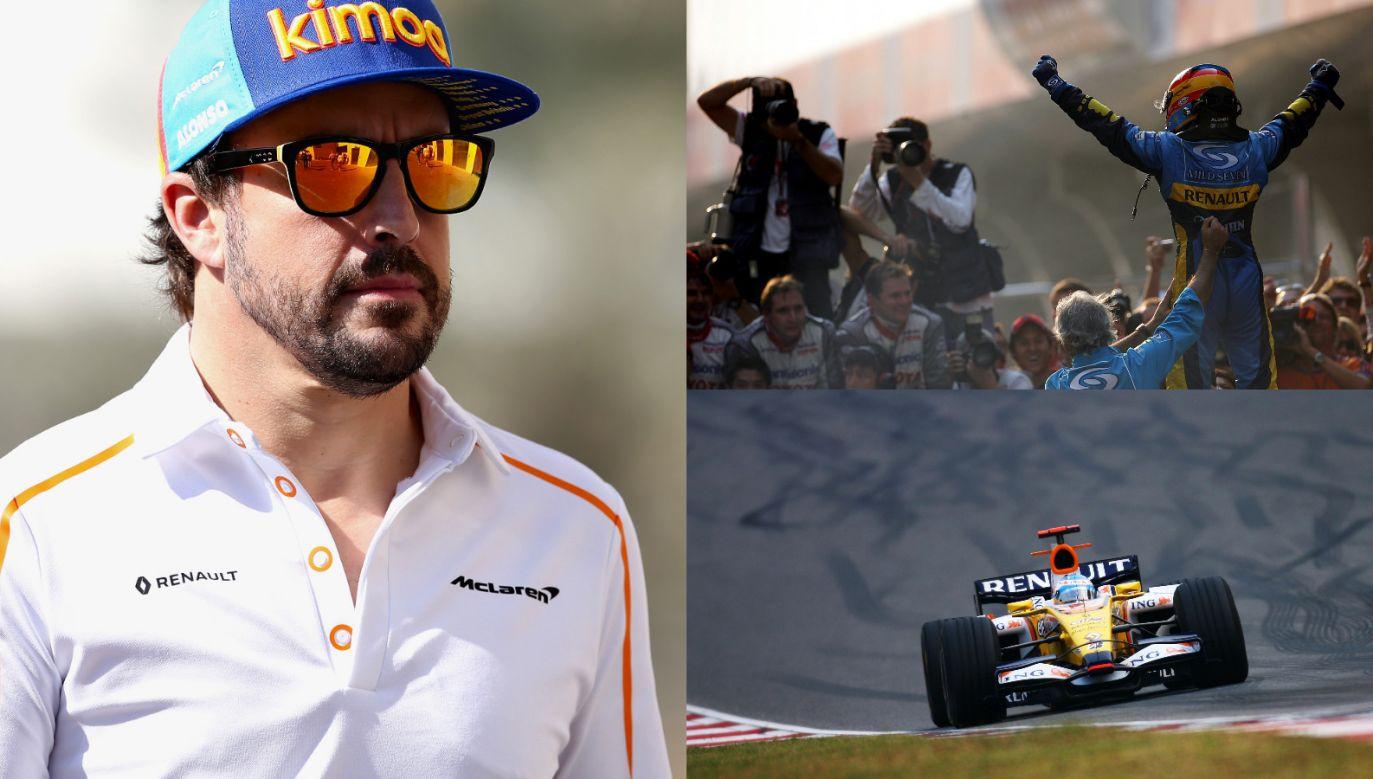 Fernando Alonso po 12 latach znów pojedzie dla Renault (Fot. Getty)