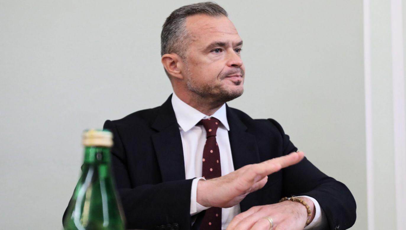 Po zwolnieniu z Ukrawtodoru Sławomir Nowak pozostał na Ukrainie (fot. arch.PAP/Leszek Szymański)