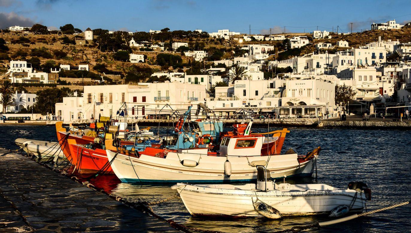 Porywacz po 34 latach przypłynął statkiem wycieczkowym na grecką wyspę Mykonos. (fot. Pixabay/csr_ch)