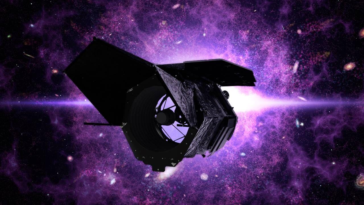 Kosmiczny Teleskop Nancy Grace Roman ma zostać wystrzelony w połowie lat dwudziestych (graf. NASA)