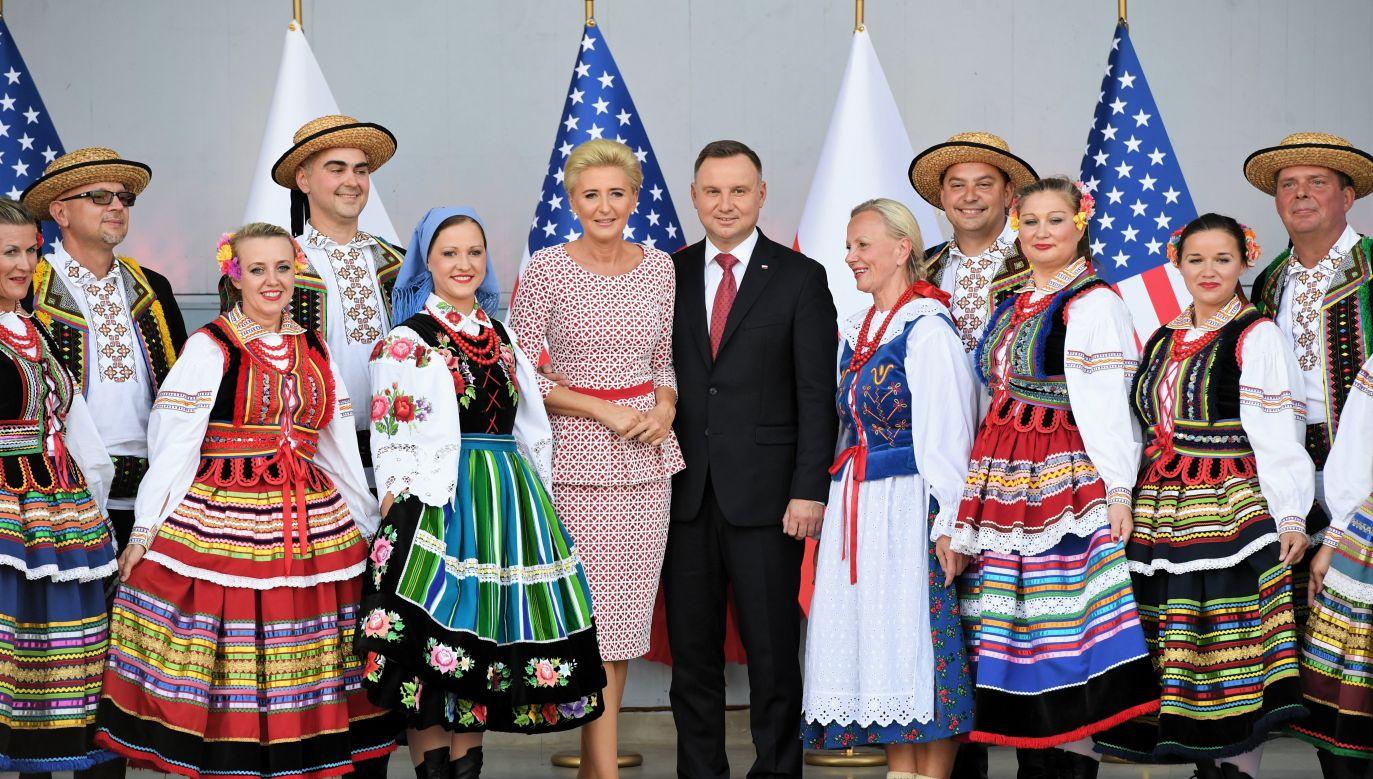 Prezydent Duda składa wizytę w Stanach Zjednoczonych  (fot. PAP/Radek Pietruszka)