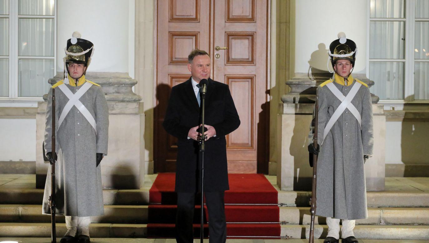 President Andrzej Duda attends Cadet Day commemorations Photo: PAP/Paweł Supernak