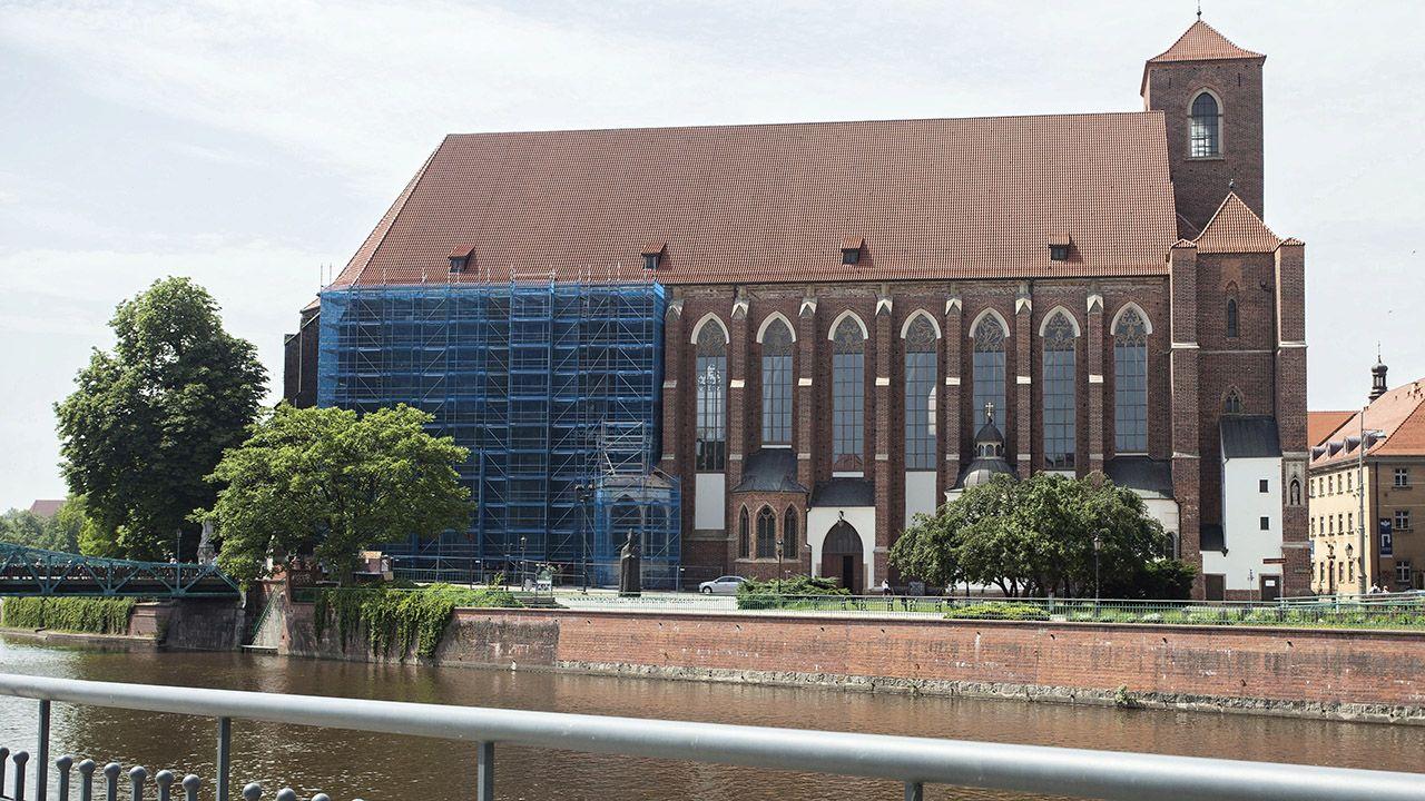Kościół pw. Najświętszej Marii Panny we Wrocławiu (fot. PAP/Aleksander Koźmiński)