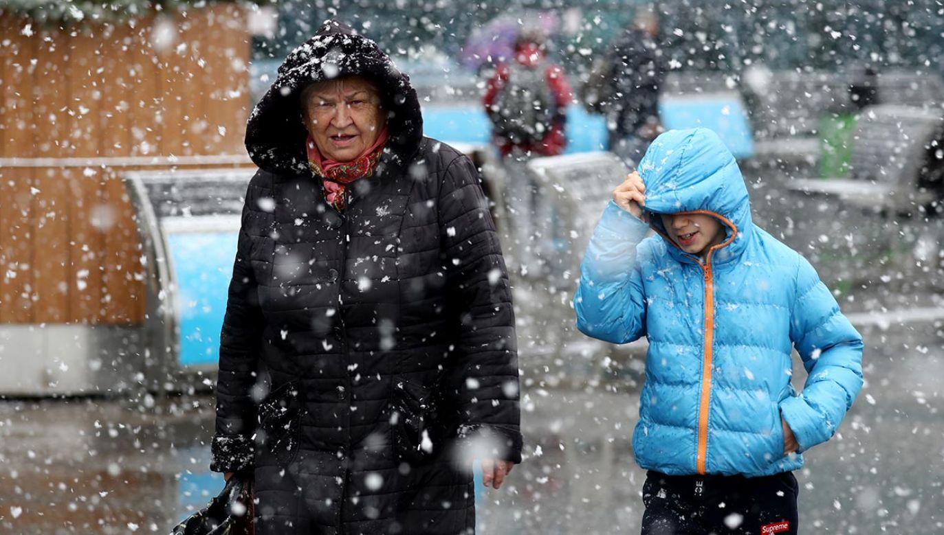 Miejscami w kraju pojawią się burze, grad i śnieg (fot. Sergei Fadeichev\TASS via Getty Images)