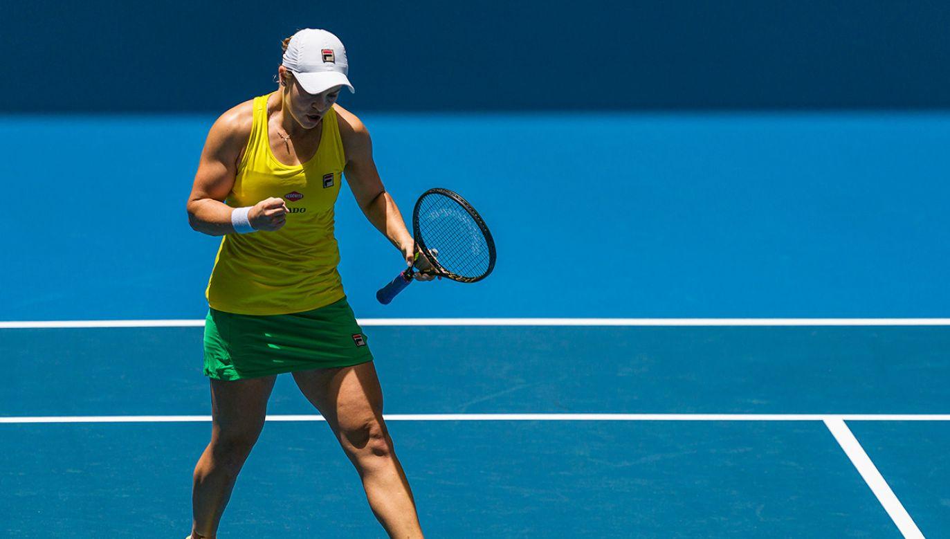 23-letnia tenisistka otrzymała 82 procent głosów w plebiscycie WTA (fot. Andy Cheung/Getty Images)