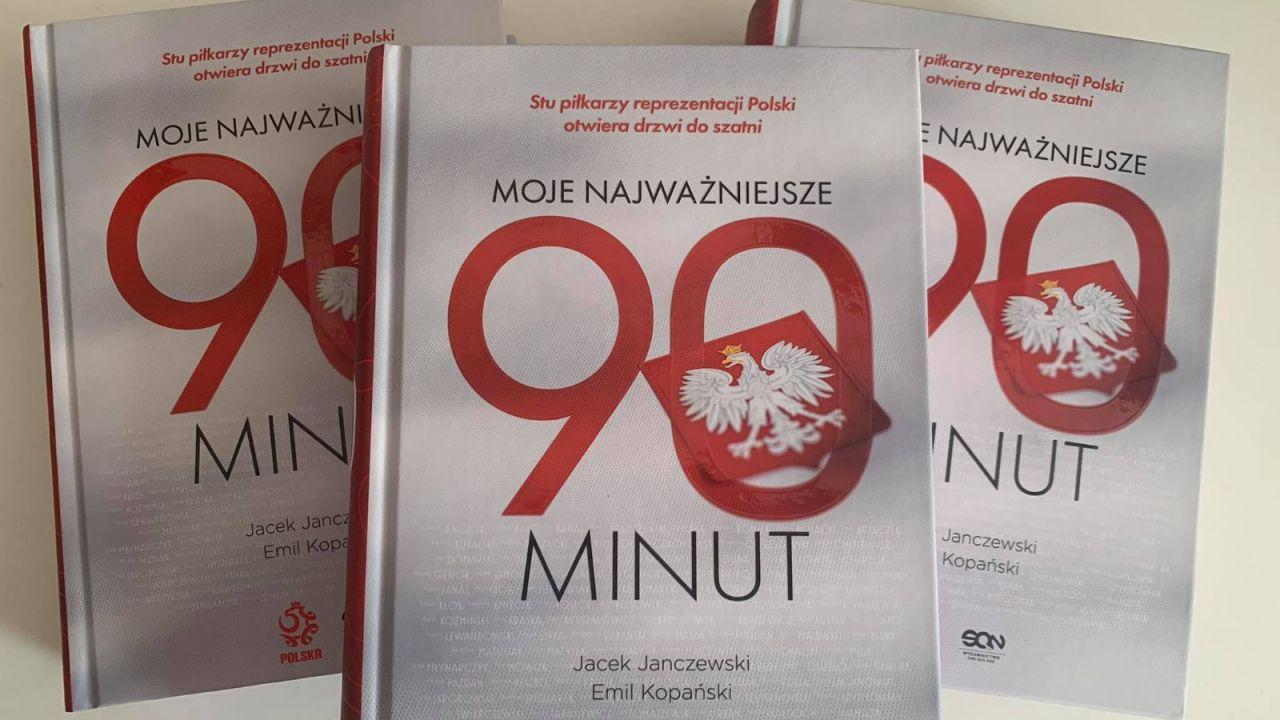 """Konkurs! Wygraj książkę """" """"Moje najważniejsze 90 minut"""" (sport.tvp.pl)"""