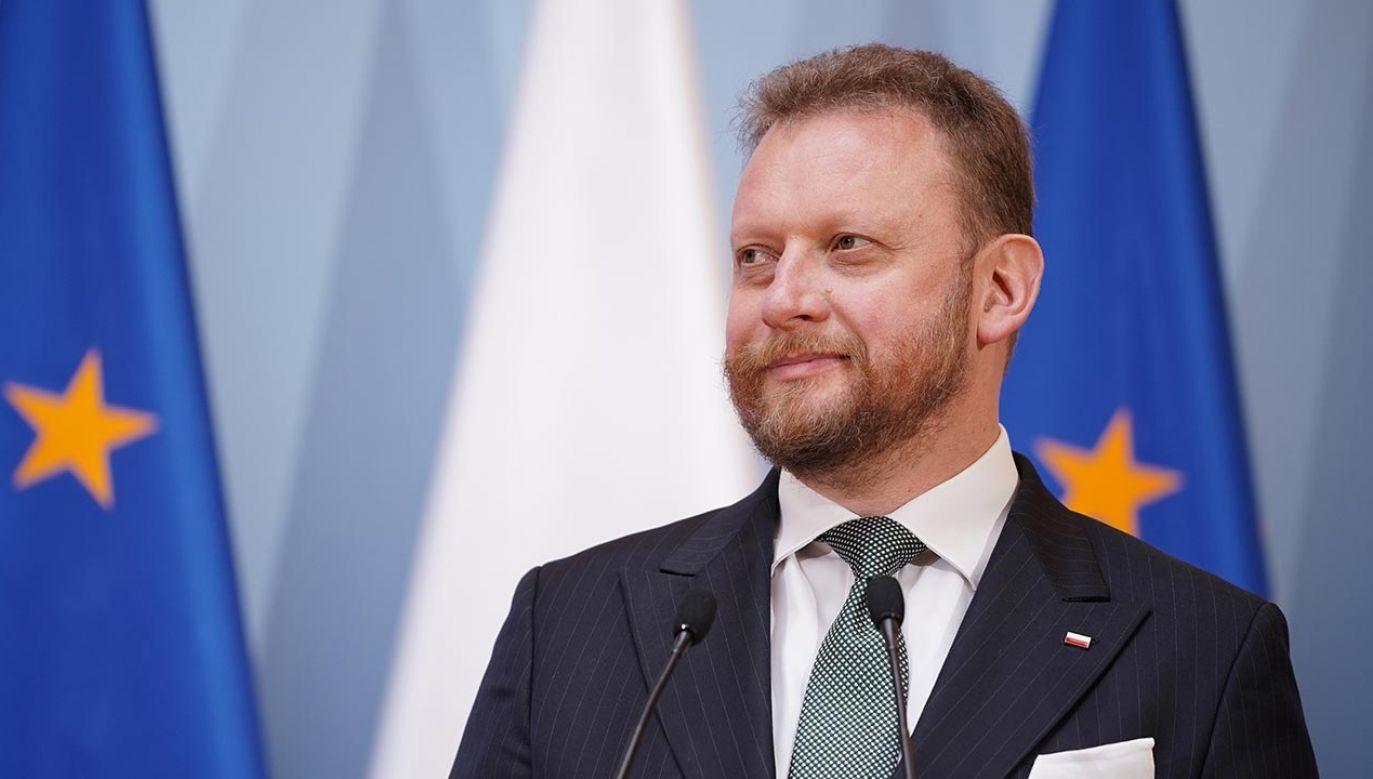 Łukasz Szumowski (fot. Forum/Mateusz Wlodarczyk)