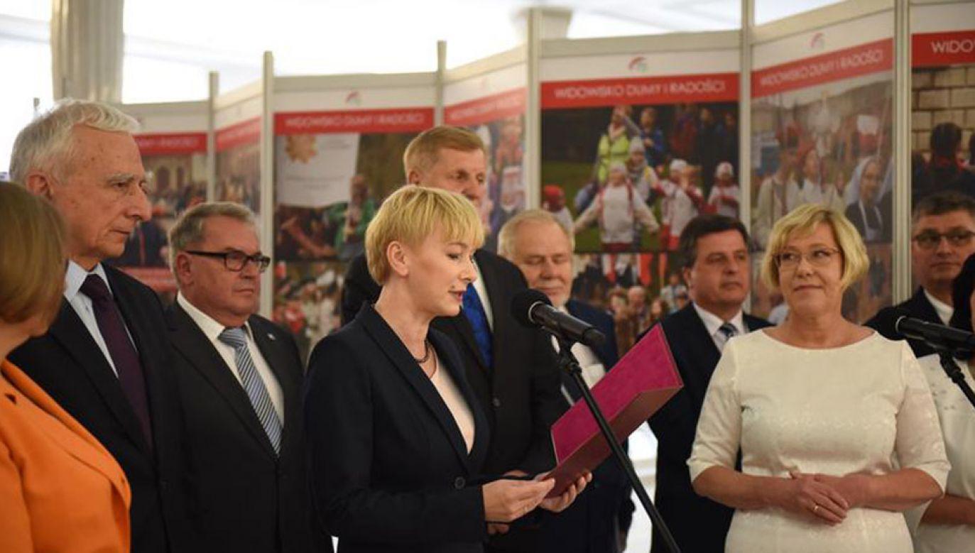 """Wystawa """"Duma i Radość"""" w Sejmie (fot. Kancelaria Sejmu/Marta Marchlewska)"""