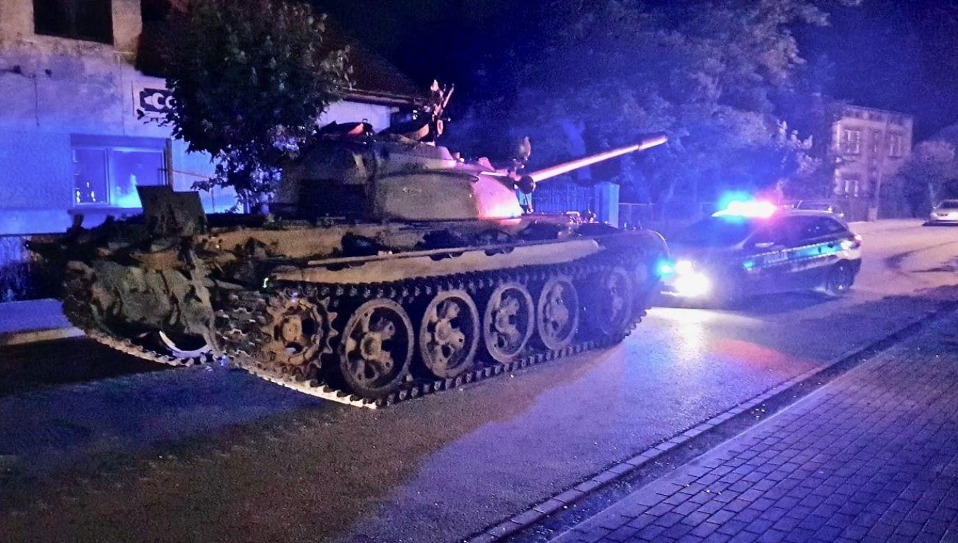 Czołg T-55 fot. www. twojepajeczno.pl