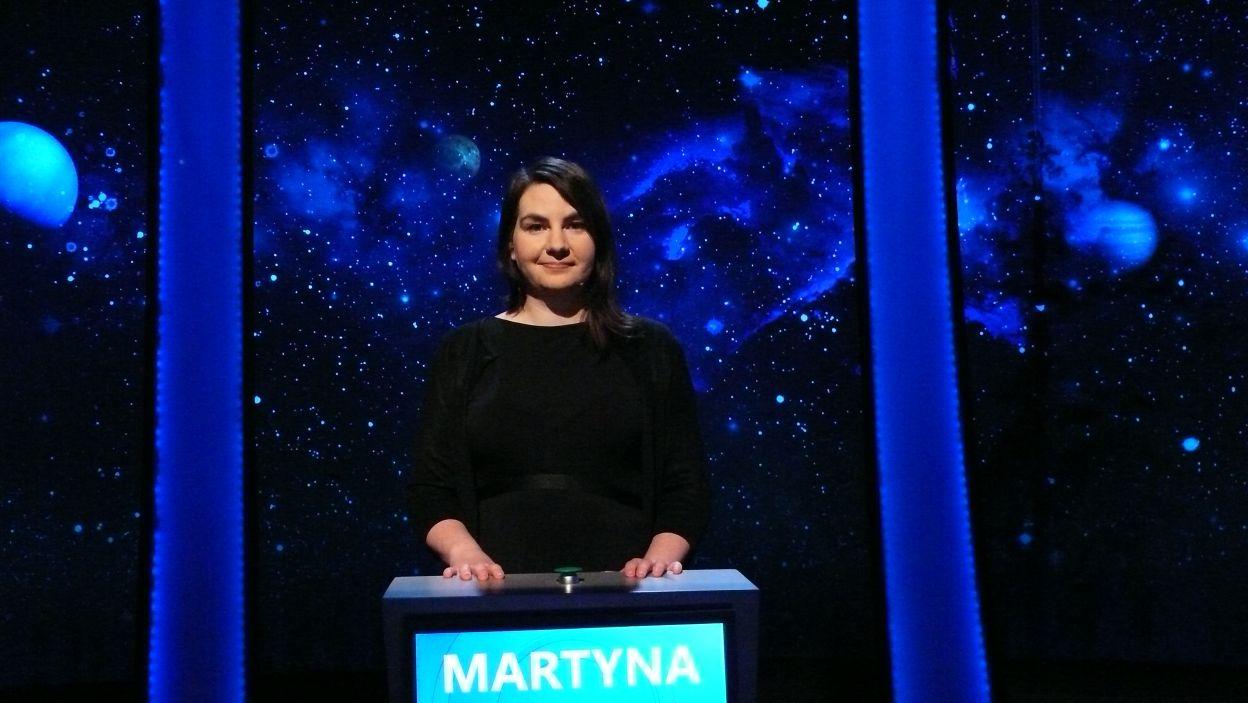 Pani Martyna Zubik wygrała 13 odcinek 117 edycji
