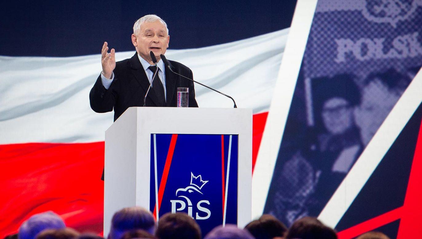 Ofensywa programowa PiS (fot. Forum/Mateusz Wlodarczyk)