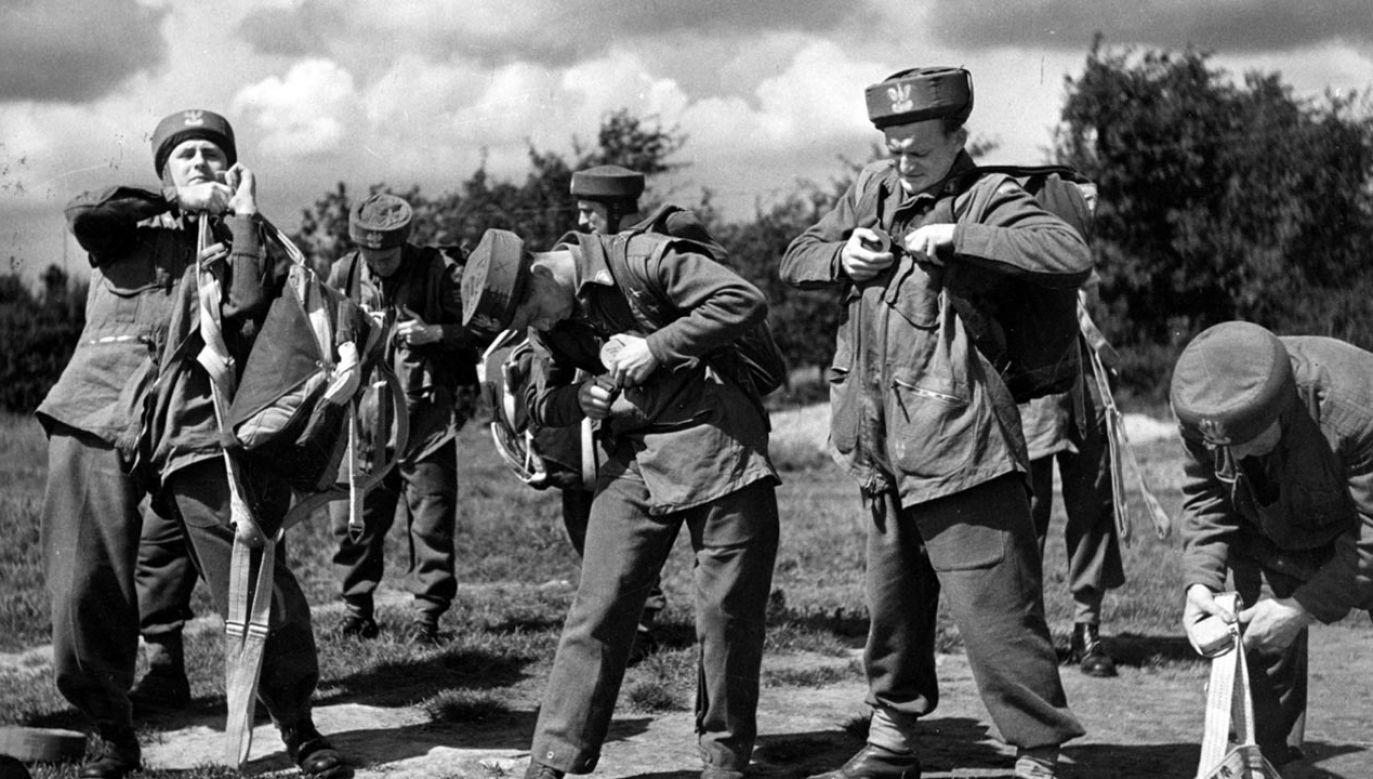 Do formacji cichociemnych werbowano żołnierzy różnych rodzajów broni (fot. NAC, zdjęcie ilustracyjne)