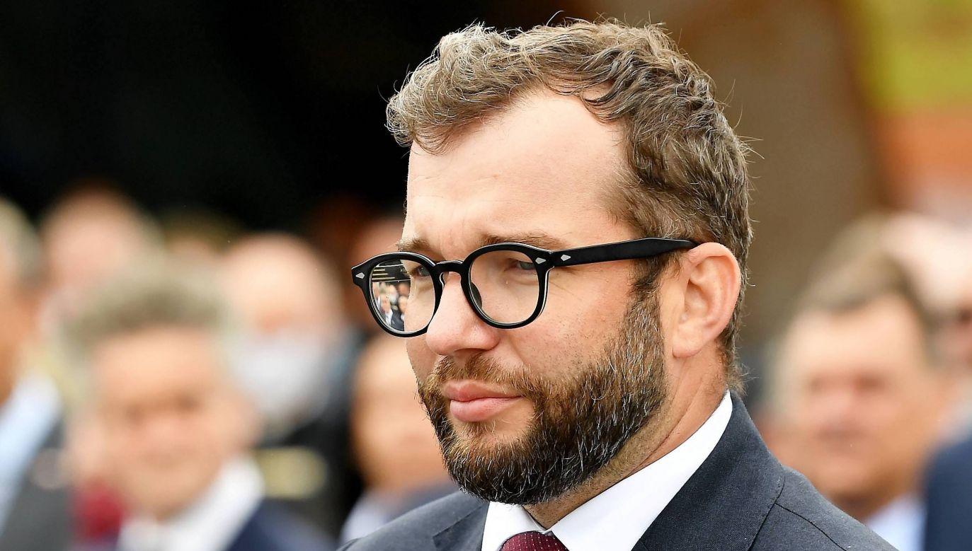 Sekretarz stanu w ministerstwie funduszy i polityki regionalnej Grzegorz Puda (fot. PAP/Piotr Polak)